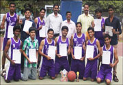 Winner in IEDSSA State Level Competitions Basketball (2nd Position)